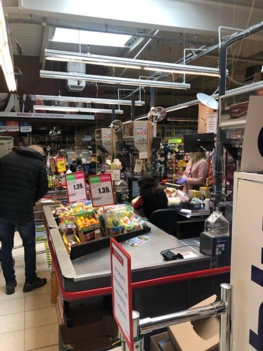 <strong>Informacje dla klientów o dezynfekcji w sklepie Intermarche w Świebodzinie</strong>