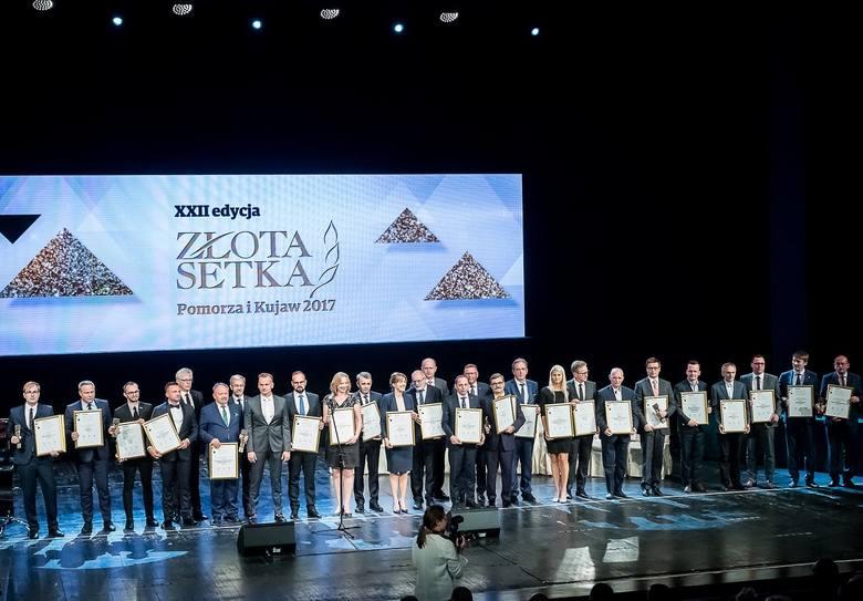 """Ubiegłoroczna gala """"Złotej Setki Pomorza i Kujaw"""" odbyła się 21 maja. W tym roku zwycięzców, 23. edycji tego największego lokalnego"""