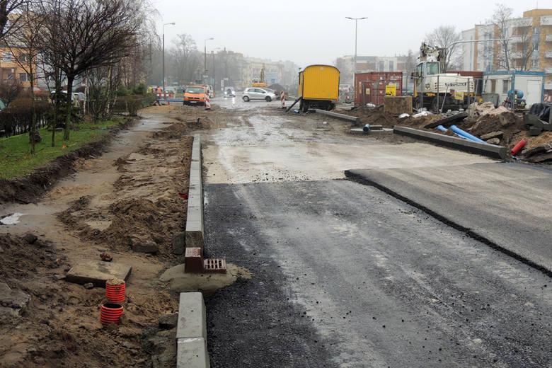 Przebudowa Szosy Chełmińskiej W Toruniu Rozpoczął Się