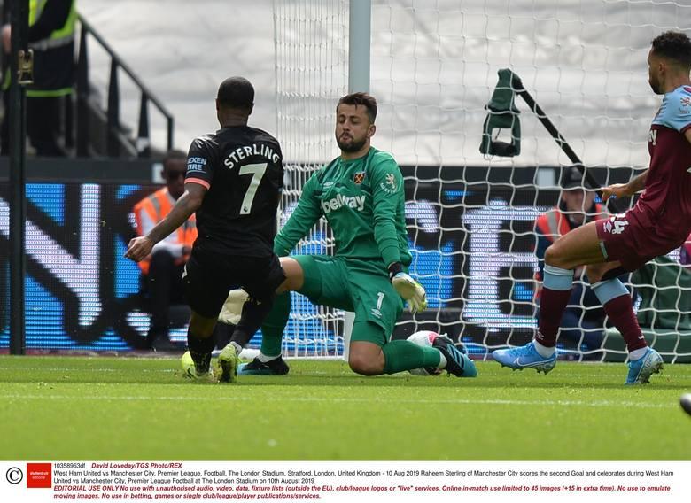 Łukasz Fabiański nie zatrzymał ofensywy Manchesteru City