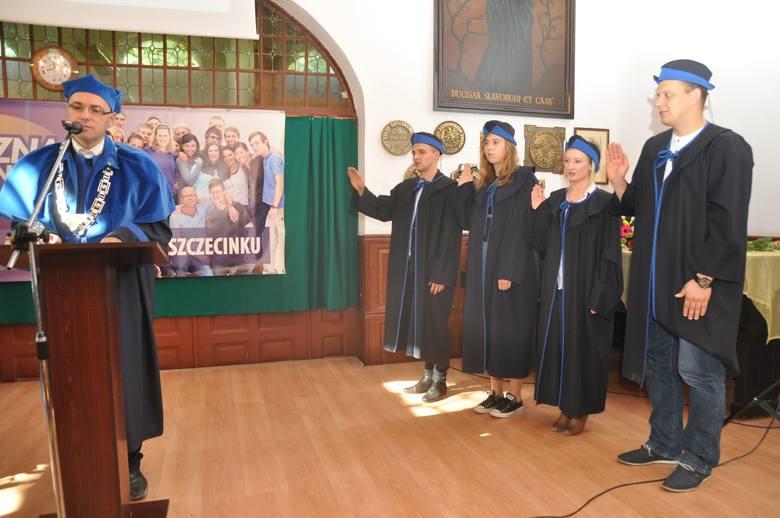 Rok akademicki w Szczecinku  rozpoczęty [zdjęcia]