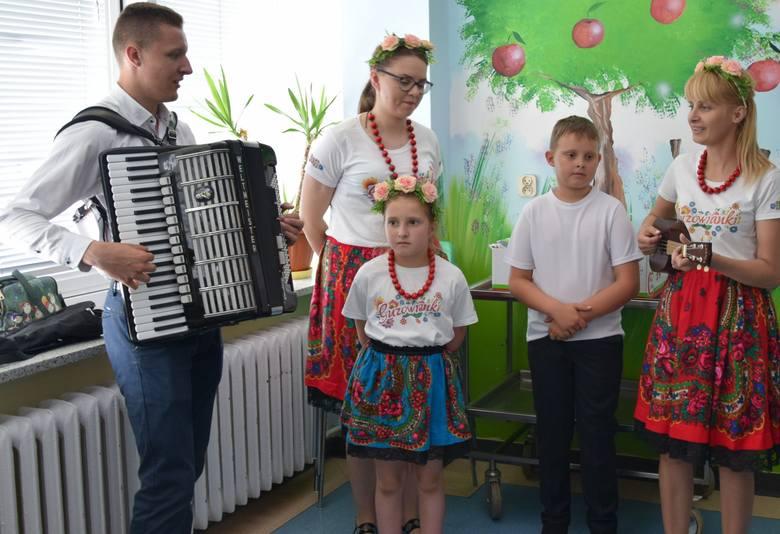 Dzień Dziecka w Mazowieckim Szpitalu Specjalistycznym w Radomiu.