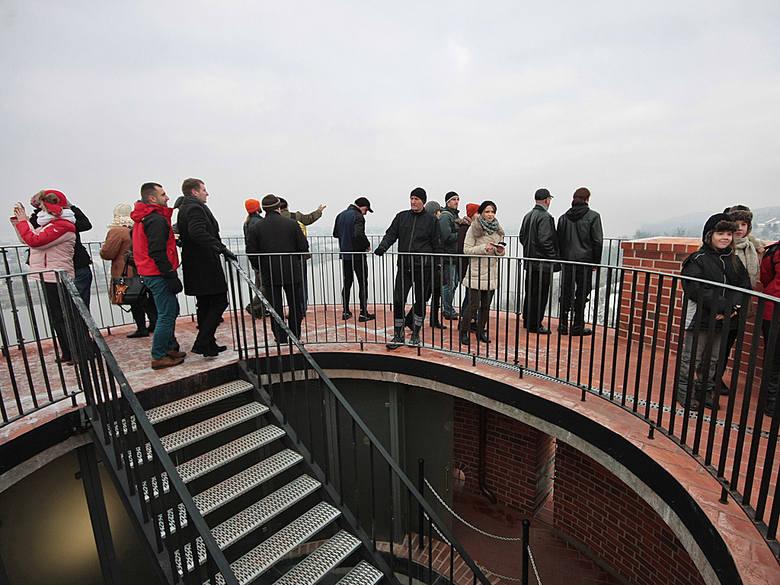 Widoki z wieży Klimek - zdaniem zwiedzających - są kapitalne