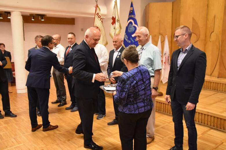 Wojewódzkie Dni Honorowego Krwiodawstwa PCK - uroczystość w Filharmonii Zielonogórskiej - 14 września br.