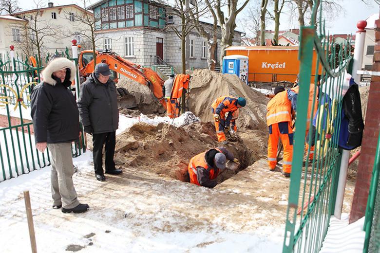 Remont ul. Westerplatte w UstceRemont ul. Westerplatte w Ustce