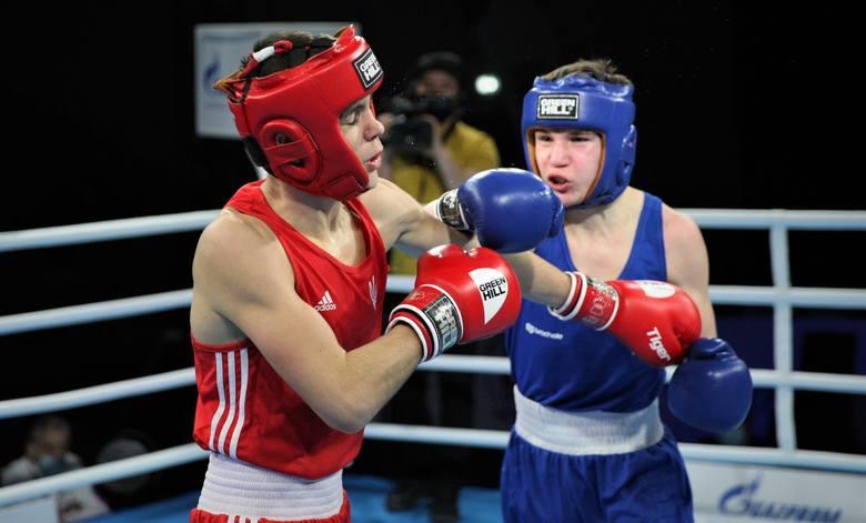 Paweł Sulęcki w swojej pierwszej walce na Młodzieżowych Mistrzostwach Świata w boksie w kategorii 60 kilogramów pokonał groźnego Ukraińca, Hennadi M