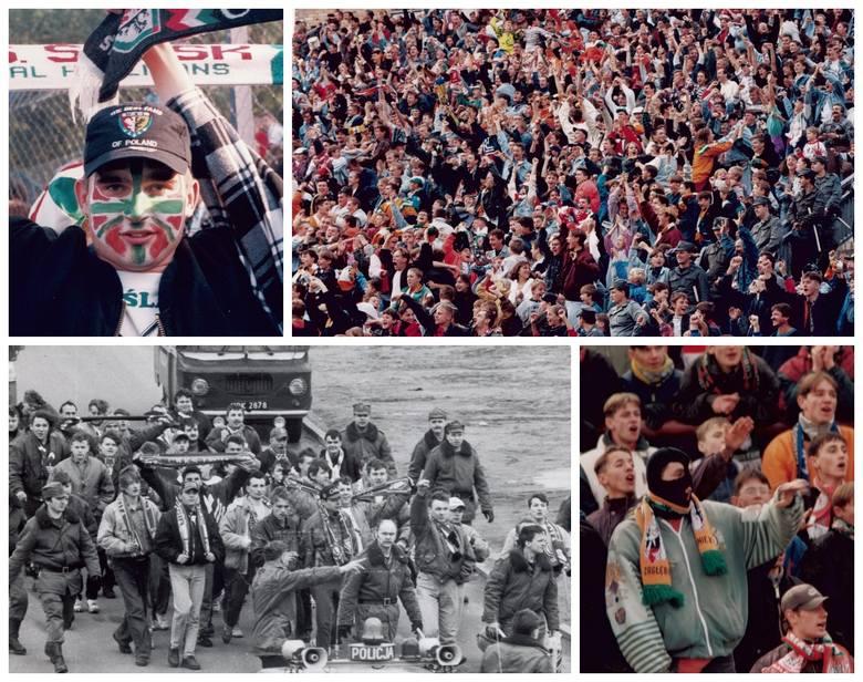 Kibice lat 90. - wszystko się zmieniłoPrzestarzałe stadiony, groteskowe kominiarki fanatyków, częste zadymy - futbol lat 90. często przypominał na trybunach
