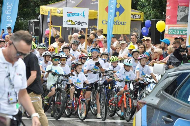 Kinder+Sport Mini Tour de Pologne. Dzieci jechały, rodzice dopingowali [ZDJĘCIA]