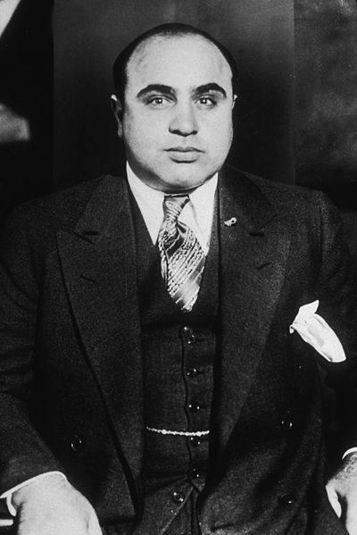 Alphonse Gabriel Capone (znany jako Al Capone, Scarface[1]) (ur. 17 stycznia 1899 w Nowym Jorku, zm. 25 stycznia 1947 w Palm Island, Miami) – amerykański