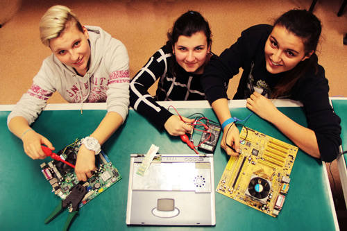 Już od kilku lat rośnie zainteresowanie młodzieży kierunkami technicznymi.