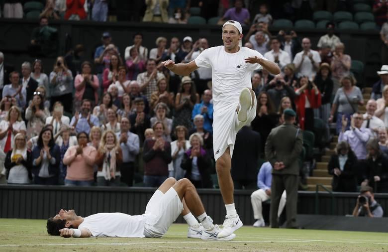 Kubotowi niestraszny był żaden horror Wimbledonu