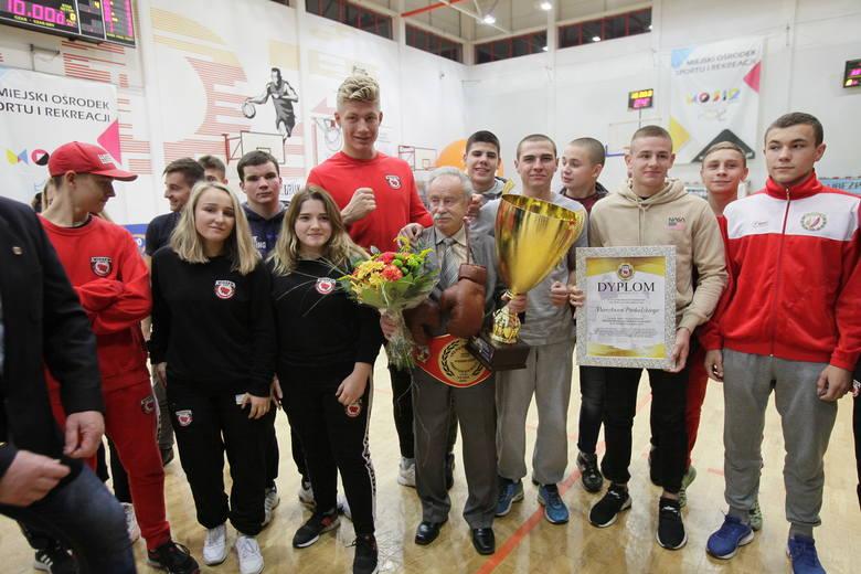 Trener Mirosław Pacholski był wyraźnie wzruszony