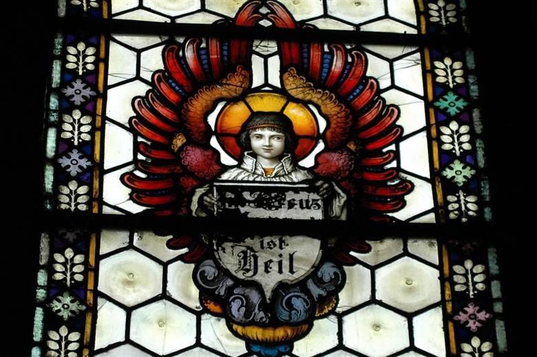 Olesno: Kaplica św. Anny w starym szpitalu.