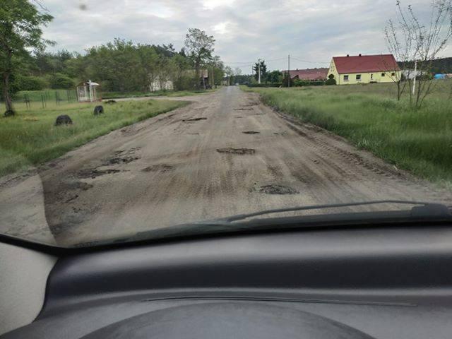 Czytelniczka przysłała nam zdjęcia i film. Zobaczycie, jak wygląda droga do uroczej wsi Siadcza. Zaledwie 20 km od drogi S3.Wieś liczy 28 domów i około