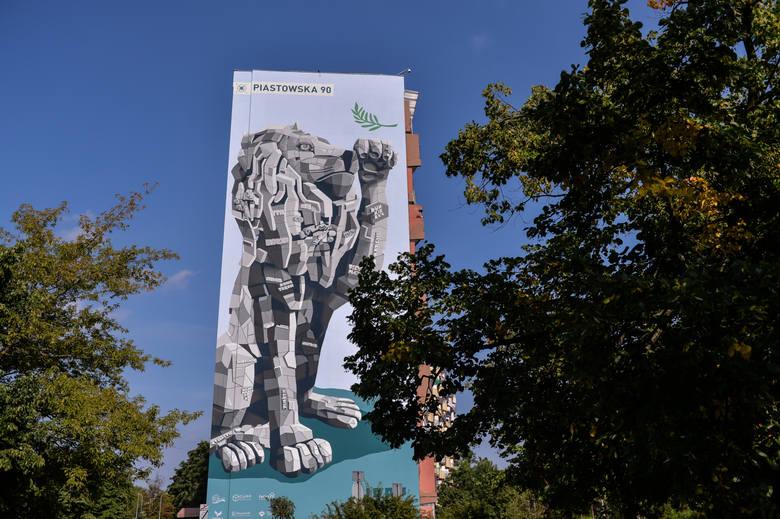 Mural Marcina Budzińskiego