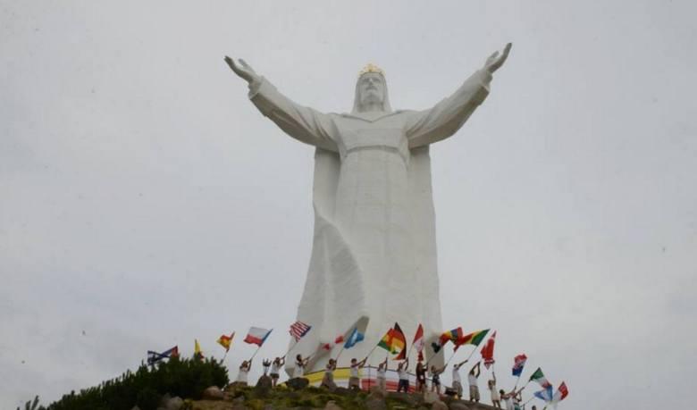 figura Chrystusa Króla w Świebodzinie