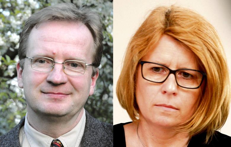 Prof. Kazimierz Ilski i prof. Bogumiła Kaniewska