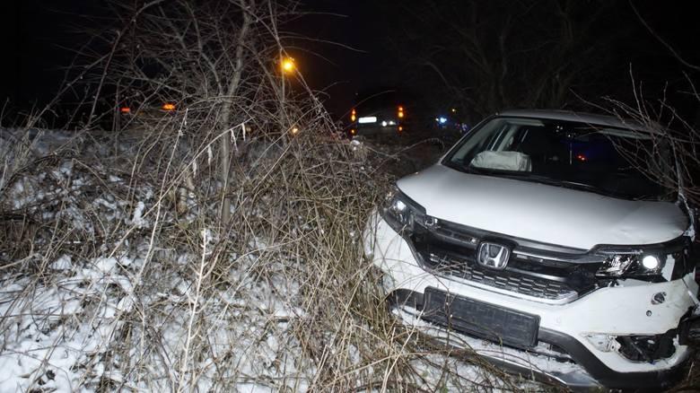W czwartek (24 stycznia) w godzinach wieczornych doszło do kolizji na ulicy portowej w Słupsku. Z informacji, jakie uzyskaliśmy, jeden z  uczestników