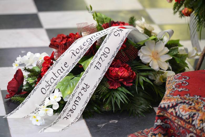 Pogrzeb wójta gminy Jarosław Romana Kałamarza.