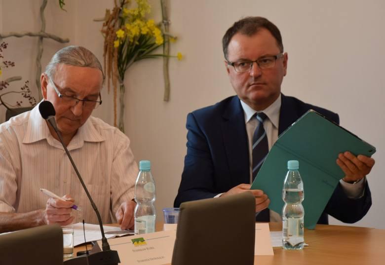 Powiat ostrołęcki. Minister cyfryzacji Marek Zagórski na sesji rady powiatu. 9.09.2019 [ZDJĘCIA]