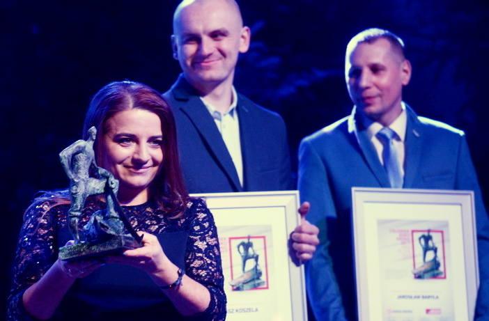 Anetta Reichel-Wasiljew z Żar, Tomasz Koszela z Sienna i Jarosław Baryła z Gorzowa