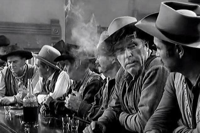 """1952 """"W samo południe"""" przegrywa z """"Największym widowiskiem świata""""Legendarny western """"W samo południe"""" z Garym Cooperem przegrał w bitwie o Oscara z"""
