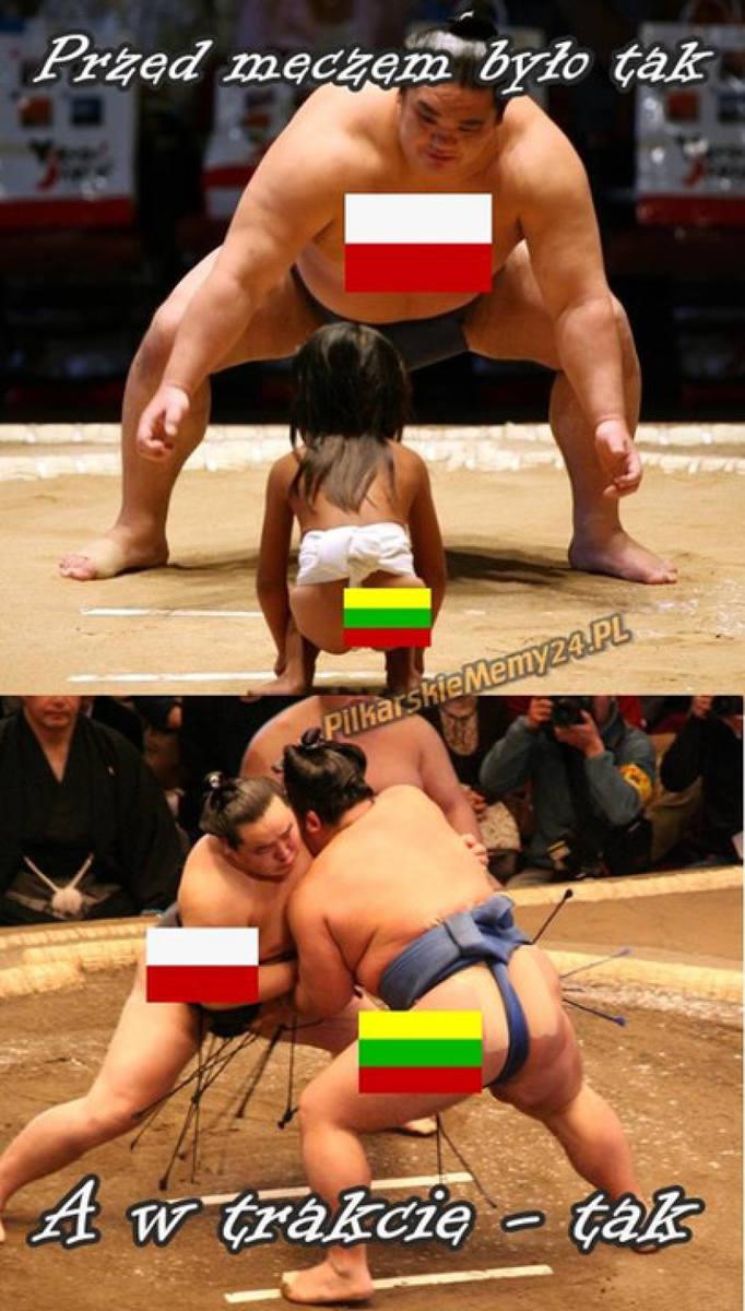 Polska Litwa - zobacz memy po meczu