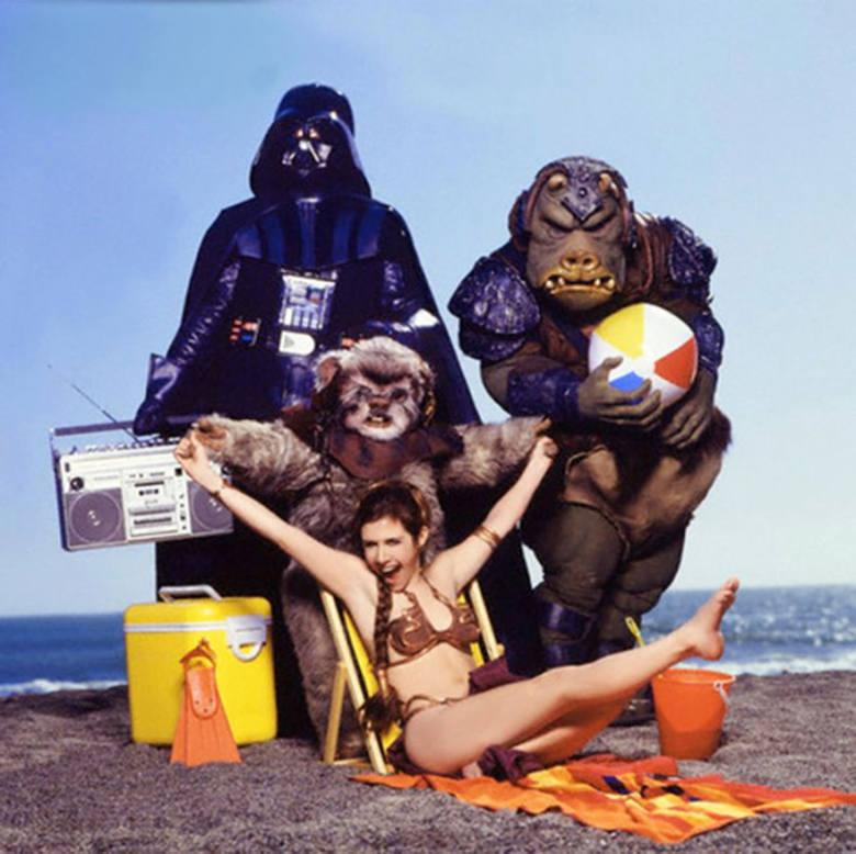 Zobacz, jak Carrie Fisher promowała Gwiezdne Wojny 30 lat temu