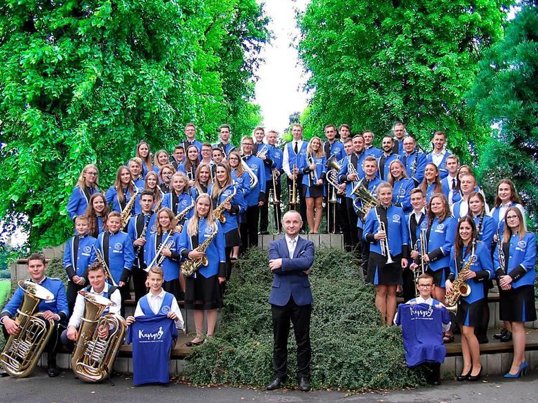 Młodzieżowa orkiestra z Prószkowa. Razem z innymi młodymi artystami dadzą ponownie koncert w Opolu pod koniec 2020 r.