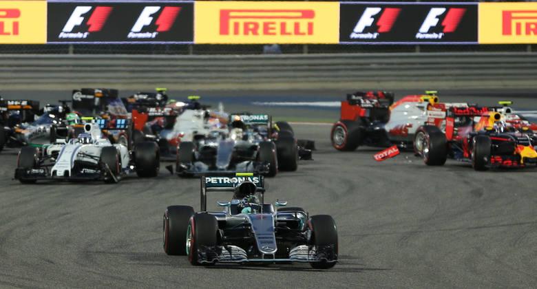 Rosberg okazał się najsprytniejszy na starcie wyścigu