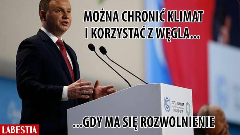 """COP24 w Katowicach to wydarzenie, które obserwuje cały świat. Nie umknęła uwadze obserwatorów wypowiedź prezydenta Andrzeja Dudy o węglu, którego """"mamy"""
