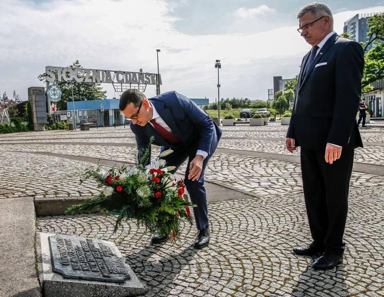 Wizyta premiera Mateusza Morawieckiego w Gdańsku 21.06.2020