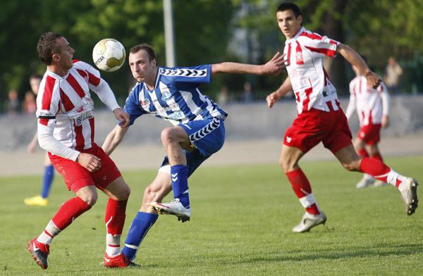 Stal Rzeszów - Resovia RzeszówResovia pokonala Stal Sandeco w derbowym meczu 2:1.