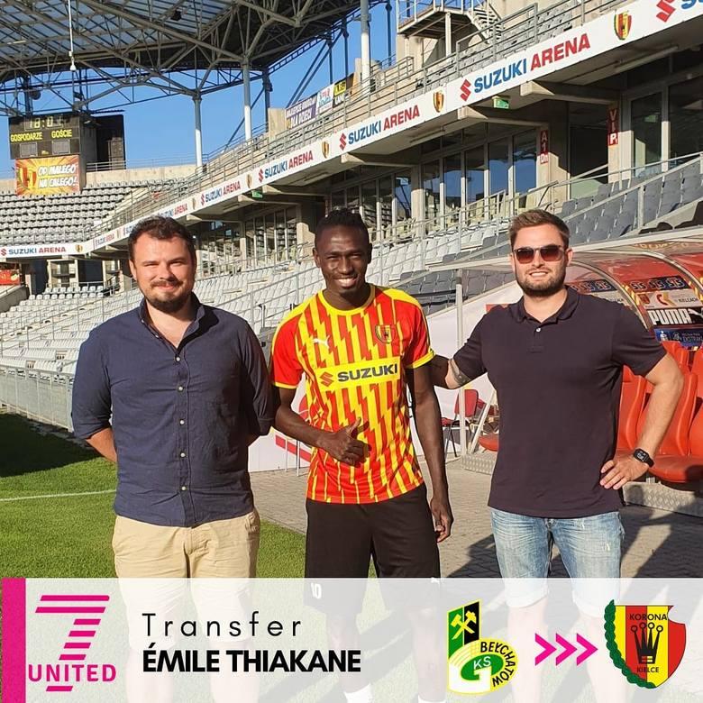 Emile Thiakane w Koronie Kielce
