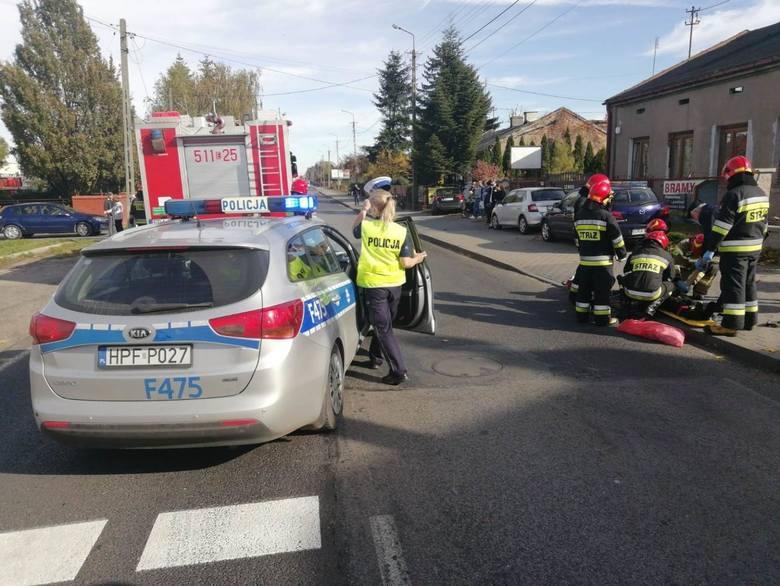 W czwartek, 17 października, po godzinie 12 na ul. Przedborskiej w Radomsku doszło do wypadku.
