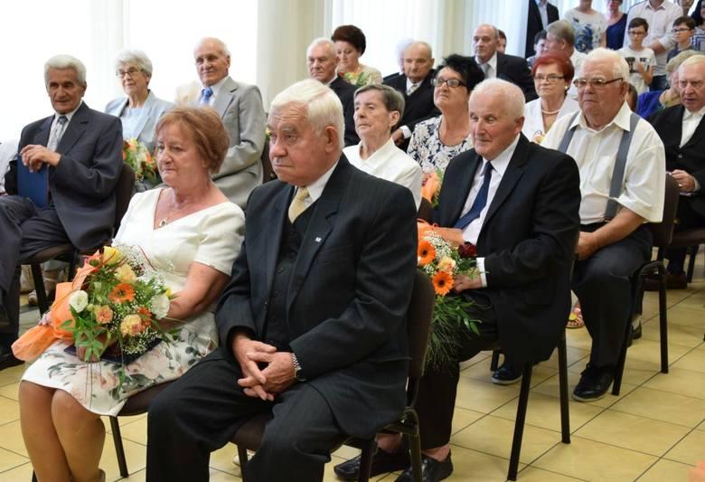 Złote Gody w Ostrołęce. Rekordowa liczba jubilatów [ZDJĘCIA]