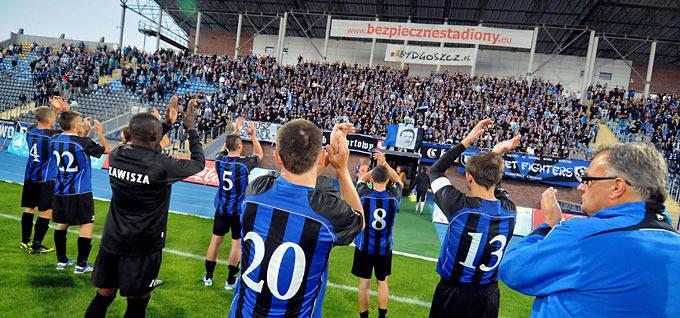 Zdjęcia z meczu Zawisza - Sandecja Nowy Sącz (1:1)