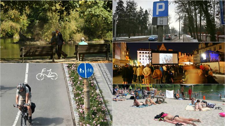 Czego w naszym mieście brakuje najbardziej? Szybkiej komunikacji, więcej miejsc parkingowych, a może pięknych zieleńców? Pytanie o potrzeby Wrocławia