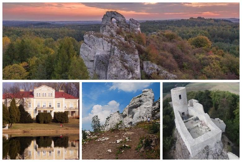 Idealnym miejscem na weekendowy wypoczynek jest Jura Krakowsko-Częstochowska, która jesienią prezentuje się wyjątkowo pięknie. Gdzie warto się wybrać?