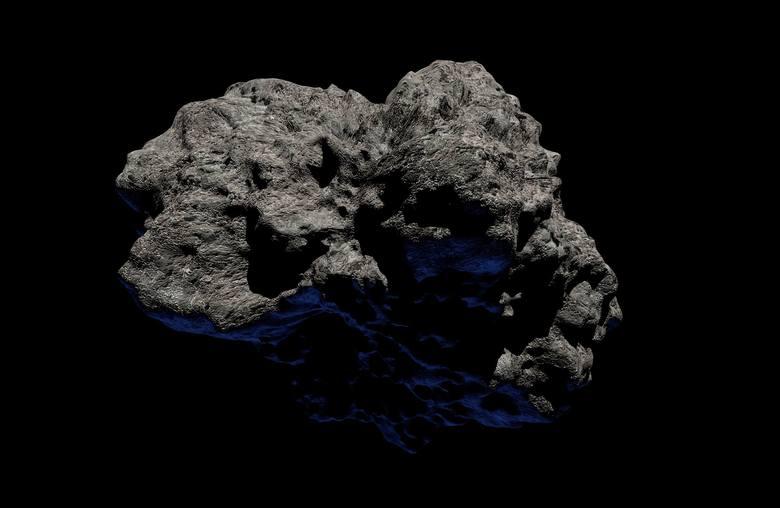 Asteroida Apophis. W 2029 roku, czyli wtedy gdy asteroida Apophis znajdzie się najbliżej naszej planety, gołym okiem będzie można ją zobaczyć w Afryce,