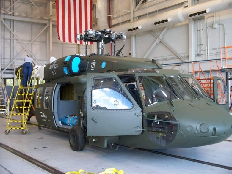 Pierwszy zbudowany w Mielcu śmigłowiec S-70i BLACK HAWK. Fot. Archiwum.