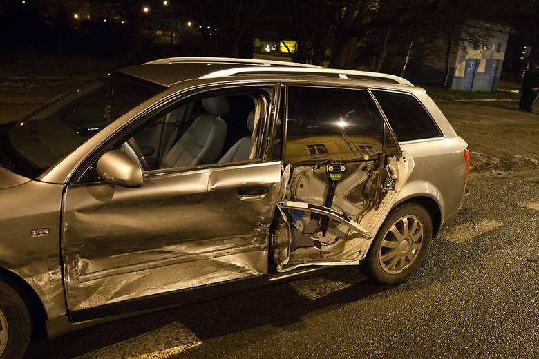 Wypadek na skrzyżowaniu ulic Kossaka i Szczecińskiej