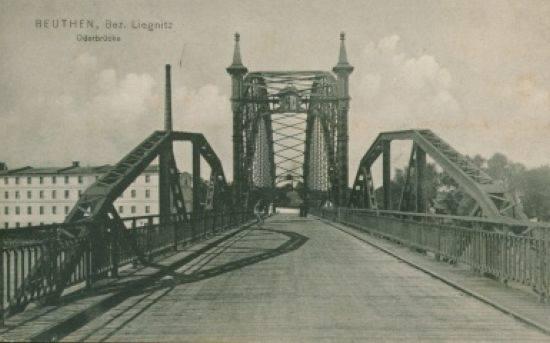 Budowla kosztowała 575 tys. marek. Most miał konstrukcję stalową o wypiętrzonej wysoko kratownicy. Przeprawa miała na siebie zarabiać, gdyż za korzystanie