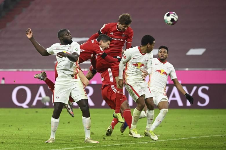 Szalony mecz Bayernu z Lipskiem, świetny Piątek i słaba Borussia