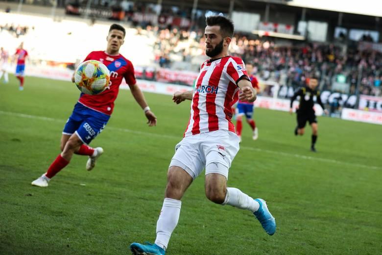 Mateusz Wdowiak w barwach Cracovii rozegrał 152 spotkania