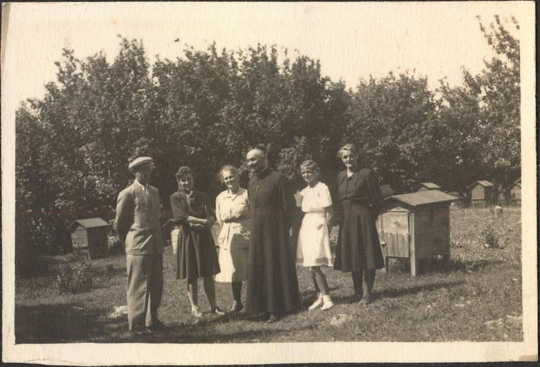 Pasieka na Lubelszczyźnie, lata 50. XX wieku.
