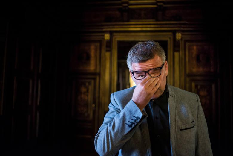 """Artur Andrus szczerze. """"Mam to po Marii Czubaszek, interesuje mnie tylko jutro"""""""