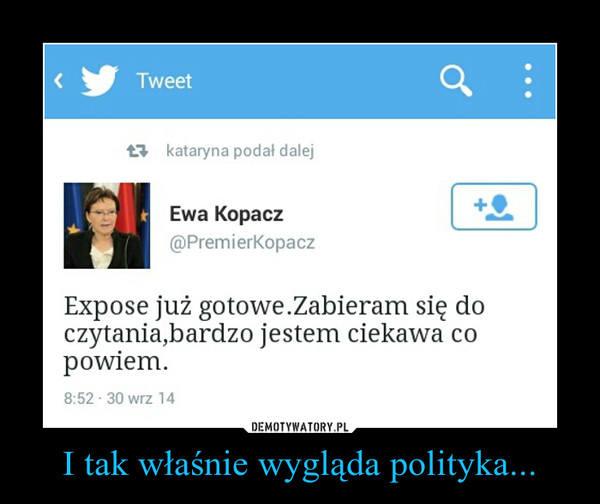 Expose Ewy Kopacz. Internauci komentują