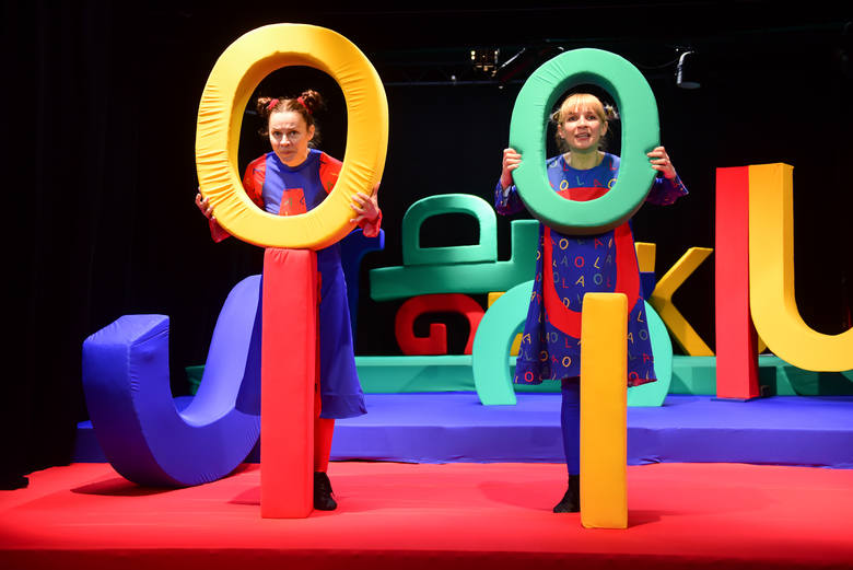"""Premiera spektaklu """"Literkowo"""" odbędzie się w Teatrze Baj Pomorski w Toruniu w niedzielę 15 kwietnia o godzinie 16.30"""
