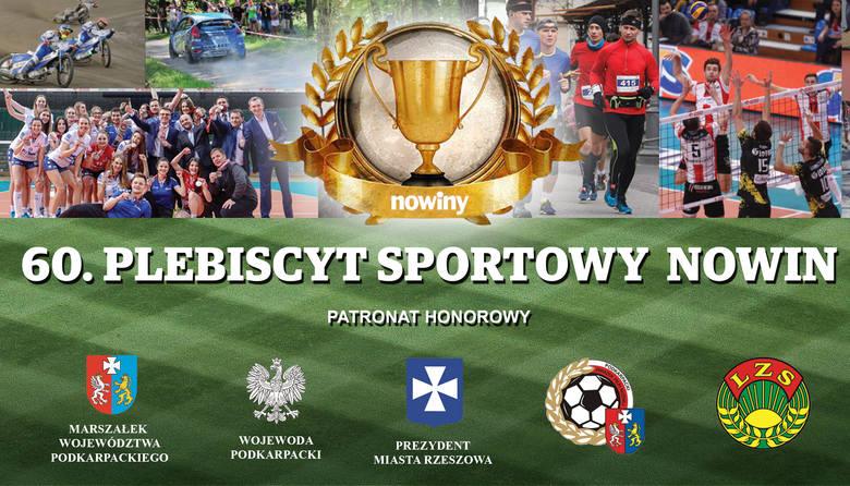 60. JUBILEUSZOWY PLEBISCYT SPORTOWY   Gala wręczenia nagród już 31.01 w G2A Arena w Jasionce!